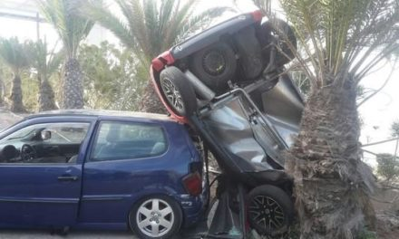 Collision in Playa del Cura leaves one injured