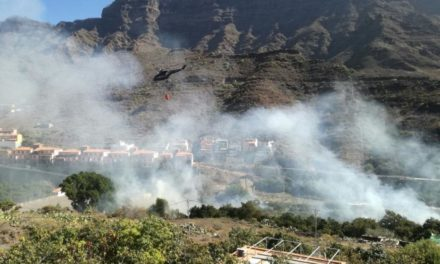 Fire in Mogán brought under control