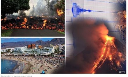 "British press fuel fears of ""mega-eruption"" on Tenerife's Mount Teide"