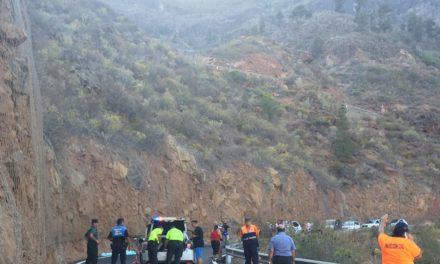 A cyclist tragically dies on the GC-505 road to Soria after head on collision