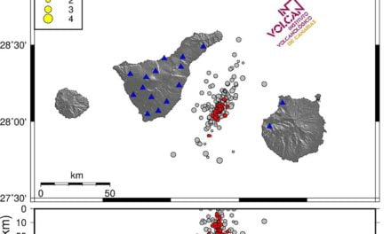 54 earth tremors detected between Tenerife and Gran Canaria, though nothing to fear
