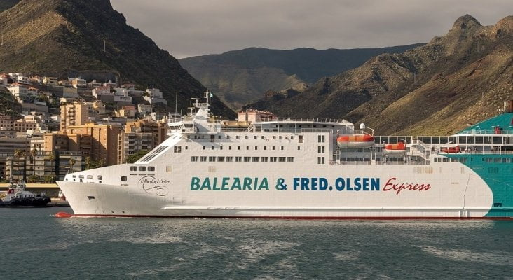 Fred Olsen to connect the Canary Islands with route to the Peninsula