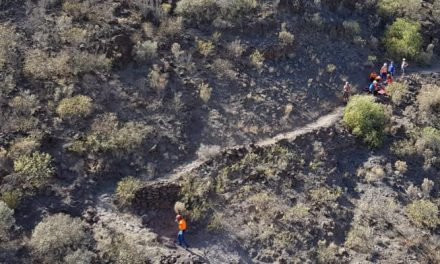 75-year-old Norwegian hiker rescued in the hills of Mogán