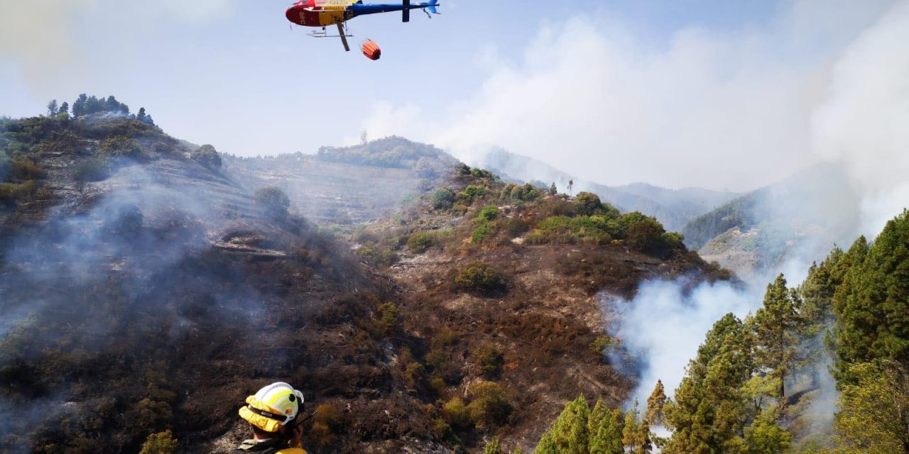 """Gran Canaria Fire Latest: """"The fire is neither contained nor stabilised nor controlled"""""""