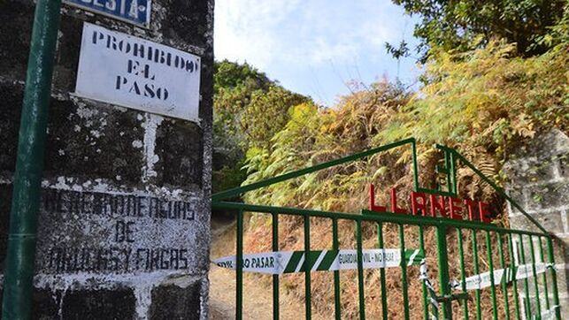The Civil Guard keeps access to the facilities of the Heredad de Aguas de Arucas in Valsendero sealed.