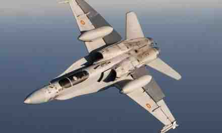 US & Turkish fighter jets play cat and mouse with Eurofighter and Spanish Air Force F-18s over Gran Canaria